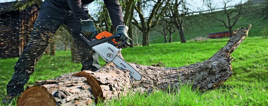 Распил дерева на дрова